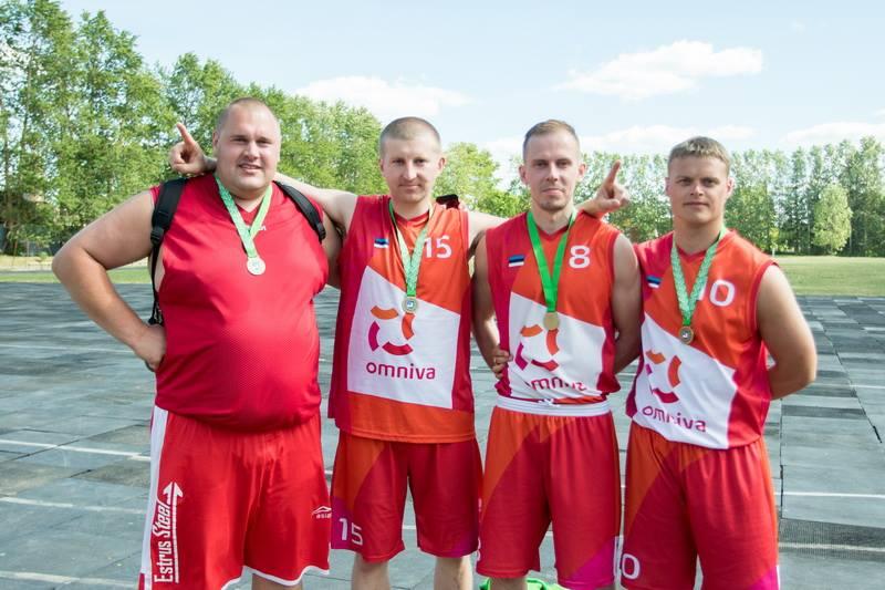 2016. aasta Lääne-Virumaa 3x3 tänavakorvpallimeistriks krooniti meeskond Omniva