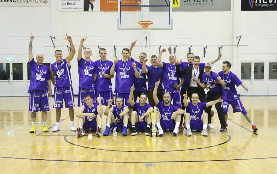 Eesti Ööjooks Kossuliiga 2017 karikavõitja RLV Massive
